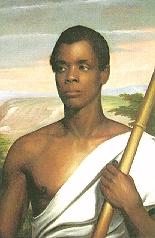 Joseph Cinqué. Portrait by Nathaniel Jocelyn, 1839