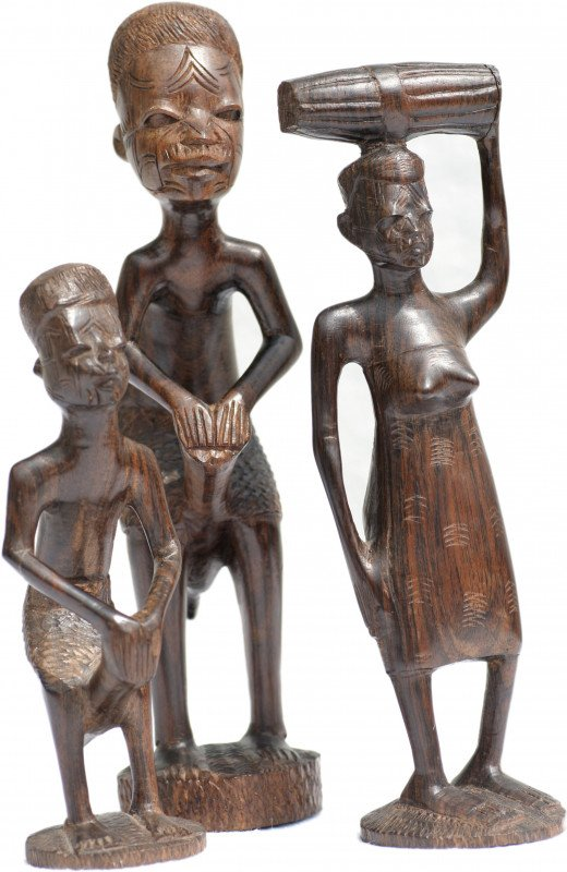 Carving from Makonde. About 1967