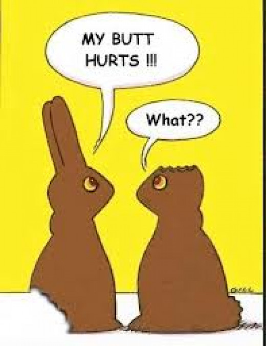 Much like a chocolate easter rabbit, faith is meant to be shared.  But be forewarned, many diehard chocoholics are reluctant to part with the rabbit ears, which are inexplicably tastier than the rest of the rabbit