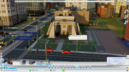 Maxis Man's crib, this onl comes with the limited edition and the digital deluxe, it really doesn't do too much in the city except give you more challenges, but hey, there it is.