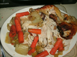 Roasted Chicken with Fennel, Lemon and Vegetables