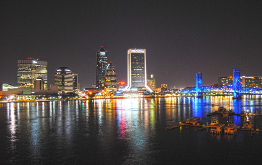 Downtown Jacksonville.