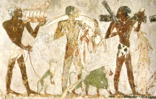 Ancient mural painting (Egyptian)