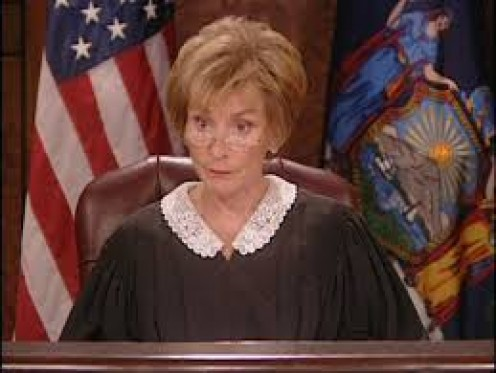 Judge Judy - My Hero!