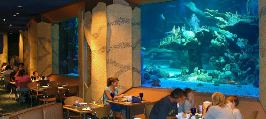 The Coral Reef Restaurant in EPCOT