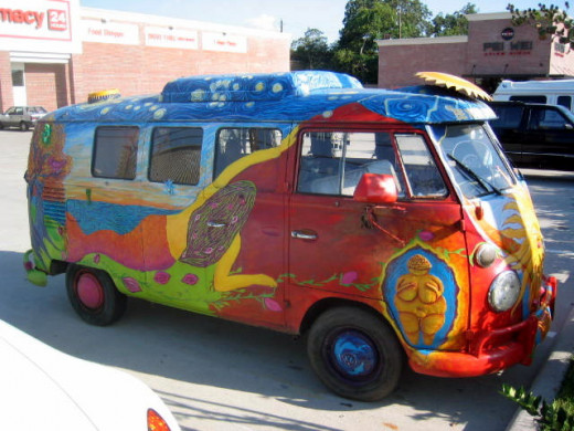 1967 VW hippie bus