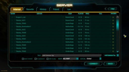 Get used to looking at the server select screen