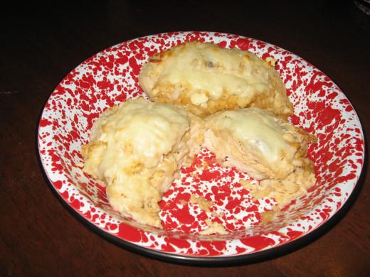 Crab-Stuffed Chicken Breasts