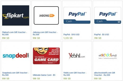 Swagbucks India Rewards