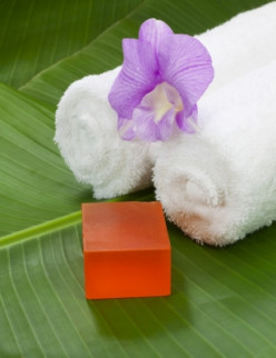 natural  homemade soap is ideal to make as a gift or to sell commercially.