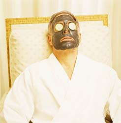 Clay or mud masks take the shine out of oily skin by absorbing excess oil
