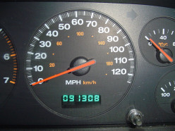 Why shouldn't driving a car in reverse subtract miles off the odometer?