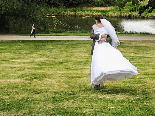 Happy wedding couple!