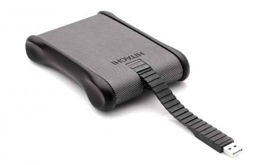Hitachi Portable Hard Drive