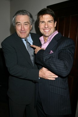 Robert De Niro & Tom Cruise