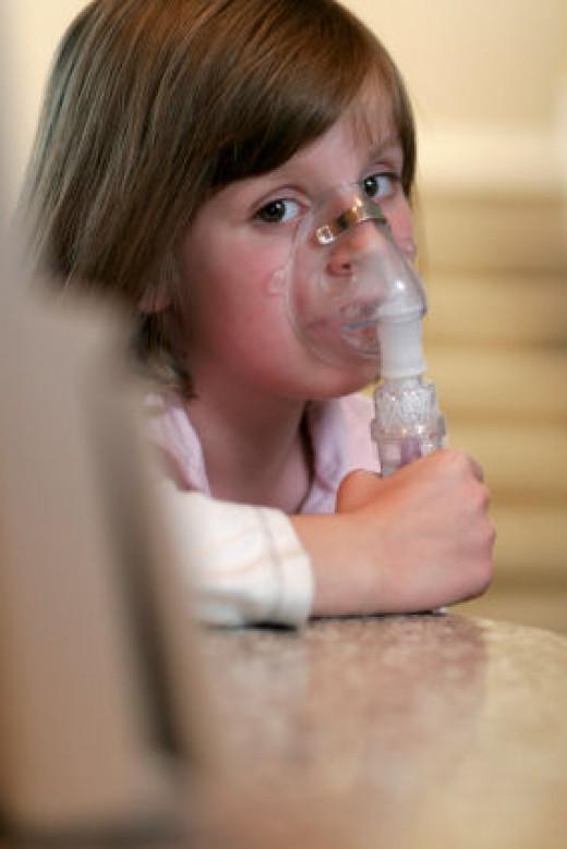 Using a nebuliser