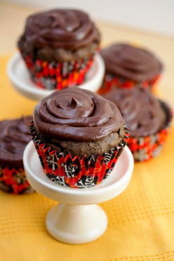 Super Moist Chocolate Cupcakes.