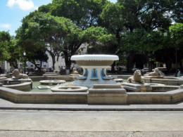 Fountain in Ponce square