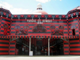 Firehouse museum in Ponce