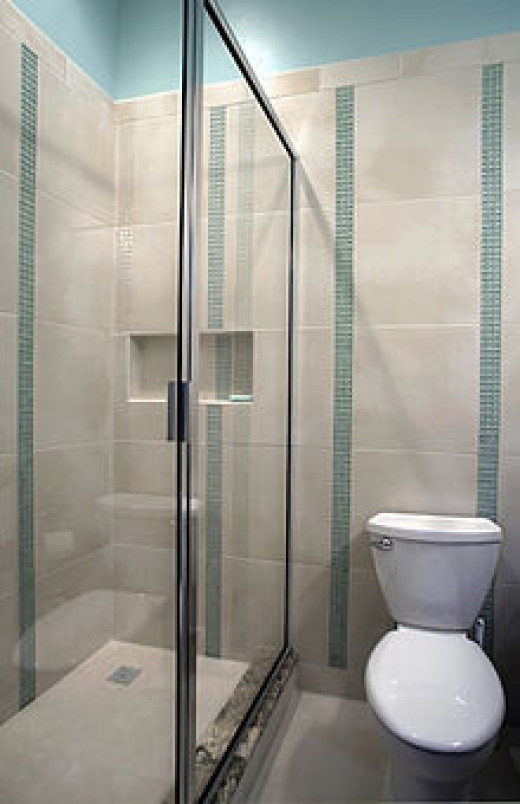 Shower doors and glass cleaning
