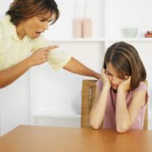 There are parents who do not guide their children in a constructive matter.They routinely use harsh criticisms and pejorative words to their children as corrective measures.They believe that the harsher the correction,the better for their children.