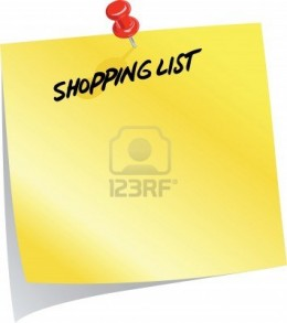Shopping list can save you mass amounts of money by elliminating impulse buying.