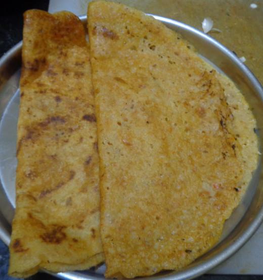 Tomato Dosa or Thakkali Dosa
