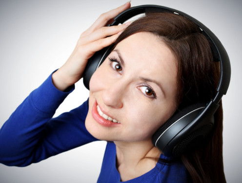 Listen to the music, radio and audio books when learning a foreign language