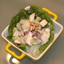 Waldorf Salad Dressing -  The Simple, Sophisticated Fruit Salad Recipe