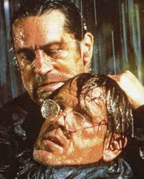 Robert De Niro and Nick Nolte star in Cape fear which was released in 1991. This movie was creapy when it came out.