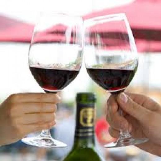 Rioja red wine.