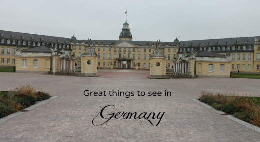 Great places to see in Germany.