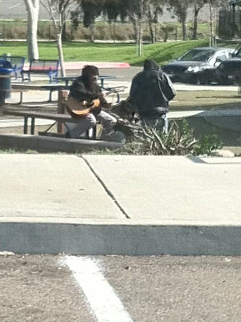 Spring Valley Park musicians