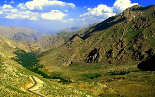 Iraq landscape - Kurdistan