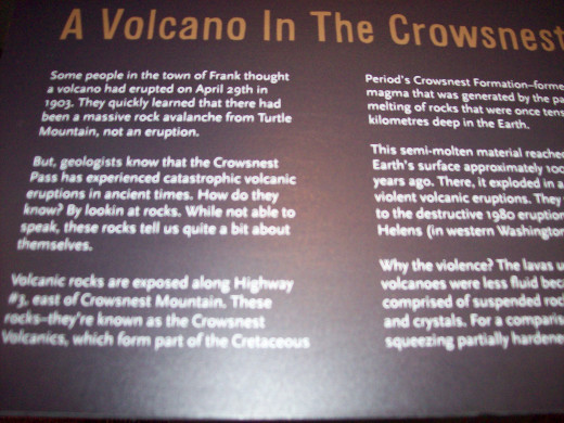 People thought a volcano erupted that night.