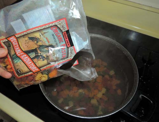 cook pasta