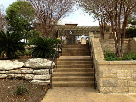 Entrance to Avery Ranch Main Pool Cedar Park TX