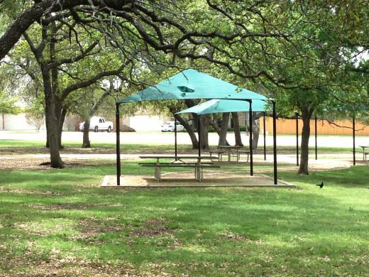 Avery Ranch Tree Shaded Picnic Areas Cedar Park TX