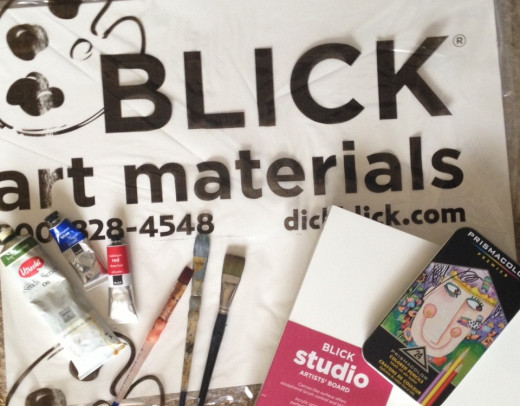Art supplies aren't free! Photo by Corinna Nicole