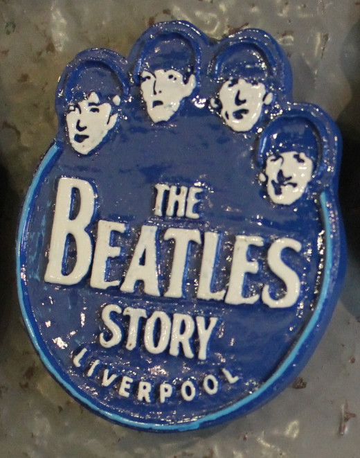 The Beatles Story fridge magnets