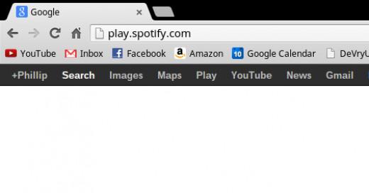 """Go to """"play.spotify.com""""."""