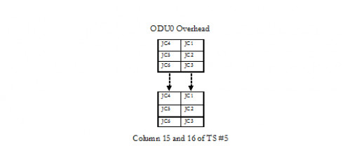 ODU0 Overhead