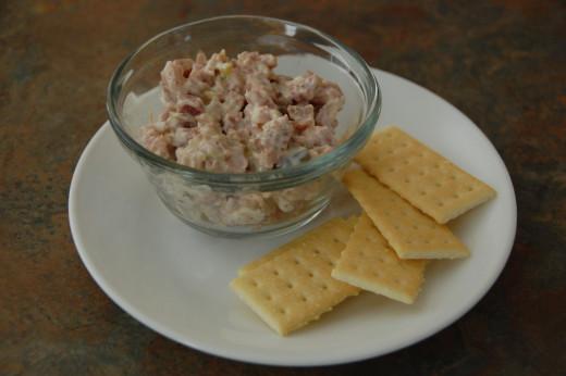 easy, delicious ham salad