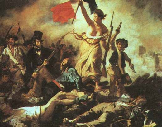 """Liberty Leading the People"" by Eugene Delacroix"