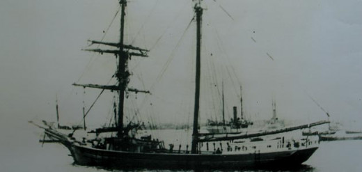 Photo of Mary Celeste shortly after manufacture