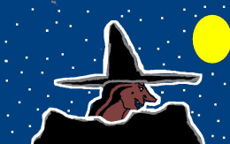 Witches in the Discworld mountains.