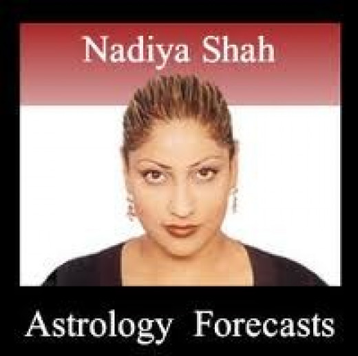 Canadian astrologer Nadiya Shah's website has weekly forecasts and video monthly forecasts.