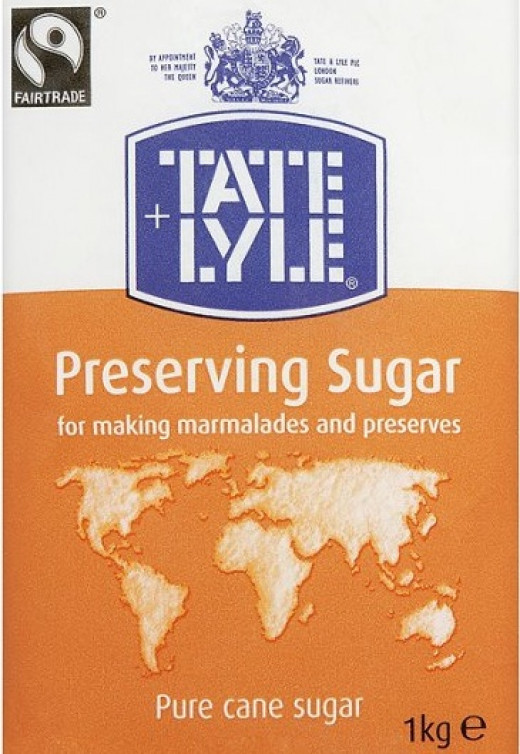Food manufacturers use sugar, to preserve food.