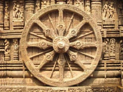 Magnificent Stone Carvings at the Legendary Sun Temple at Konark in India