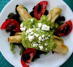 Mexican Flautas Recipes, Beef, Chicken, Pork, Rolled Tortilla Snacks